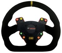 omp half round steering wheel