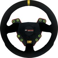 omp round steering wheel