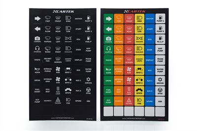 Power Distribution Panel Label Set (standard)